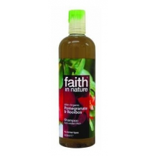 Natur Faith in Nature Bio Gránátalma és Rooibos sampon 250ml sampon