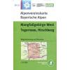 BY13: Mangfallgebirge West turistatérkép - Alpenvereinskarte