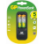 GP BATTERIES GPPB560GS270-C2 töltő + 2 akkumulátor, R6, 2700mAh