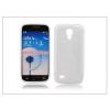 Haffner Samsung i9190 Galaxy S4 Mini szilikon hátlap - S-Line - fehér