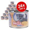 Smilla Kitten gazdaságos csomagolásban 24 x 200 g - Borjúhússal