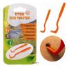 Zooplus O'Tom kullancs-eltávolító kampó - Egyes csomag - narancssárga