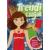 Trendi Trendi csajok - matricás, színezős öltöztető füzet