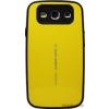 Focus Galaxy S3 ütésálló műanyag hátlap,Sárga