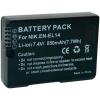 Kamera akku NIKON EN-EL14, 850 MAH 7,4 V, Conrd energy