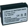 Kamera akku CANON LP-E10, 800MAH, 7,4 V, Conrad energy