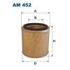 Filtron levegőszűrő AM452 1db