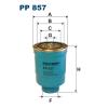 Filtron üzemanyagszűrő PP857 1db