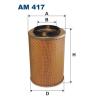 Filtron levegőszűrő AM417 1db