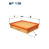 Filtron levegőszűrő AP118 1db