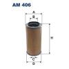 Filtron levegőszűrő AM406 1db