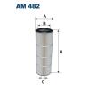 Filtron levegőszűrő AM482 1db