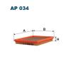 Filtron levegőszűrő AP034 1db