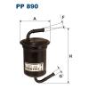 Filtron üzemanyagszűrő PP890 1db