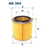 Filtron levegőszűrő AR304 1db