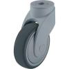 Blickle Blickle 743102 125 mm-es formatervezett műanyag terelő görgő, WAVE Kivitel Terelő görgő hátsó furattal