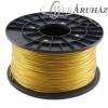Filament PLA tekercs, 3mm, Arany (1kg)
