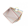 TARIFOLD Bemutatótábla, A4, műanyag, TARIFOLD, szürke (10