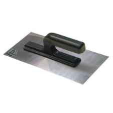 Glettelő, glettvas, rozsdamentes, 270 x 130 x 8 mm barkácsolás, csiszolás, rögzítés