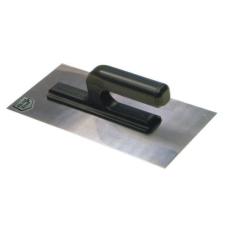 Glettelő, glettvas, rozsdamentes, 270 x 130 x 10 mm barkácsolás, csiszolás, rögzítés