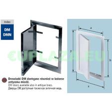 Szerelőajtó, DMN71, ellenőrző ajtó, rozsdamentes acél, 550 x 550 mm barkácsolás, csiszolás, rögzítés