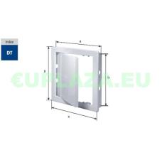 Szerelőajtó, DT12, ellenőrző ajtó, műanyag, fehér, 200 x 200 mm barkácsolás, csiszolás, rögzítés