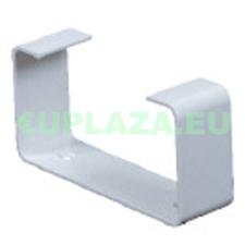 Felfogató elem, KP75-28, négyszög keresztmetszetű légcsatornához, műanyag, 75 x 150 mm barkácsolás, csiszolás, rögzítés