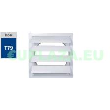 Gravitációs zsalu, TN2, műanyag, 190 x 260 mm barkácsolás, csiszolás, rögzítés