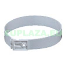 Felfogatóelem, KO125-28, kör keresztmetszetű légcsatornához, műanyag, átmérő 125 mm barkácsolás, csiszolás, rögzítés