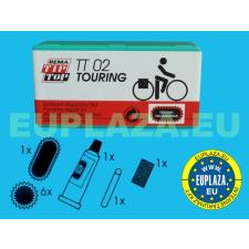 Gumijavító készlet, TT-02, túrakerékpárhoz, Tip-top barkácsolás, csiszolás, rögzítés