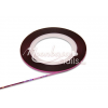 Moonbasanails Műköröm díszítő csík Csillámos lila #18