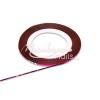 Moonbasanails Műköröm díszítő csík Élénk lila, szivárvány fénnyel #25