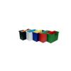DONAU Függőmappa tároló, műanyag, 5 db függőmappával, D