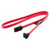 4world HDD Cable | SATA 3 | 7pin SATA (F) Left Angle - 7pin SATA (F) | 60cm| red