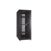 Linkbasic rack cabinet 19 27U 600x800mm black (perforated steel front door)