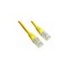 Gembird UTP kat.5e RJ45 patch kábel  0.25m  sárga