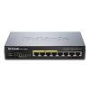 D-Link 8-port 10/100/1000 Desktop Switch w/ 4 PoE Ports