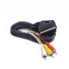 Gembird cable EURO/ 3x RCA  BIDIRECTIONAL  1.8M