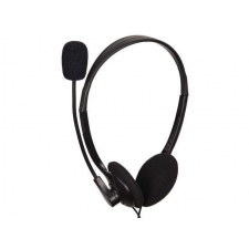 Gembird microphone & stereo headphones MHS-123 with volume control  black color headset & mikrofon