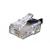 Gembird moduláris telefon csatlakozodugó (15u\'\')  (100 db)