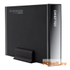 "Chieftec Enclosure 3,5"" SATA USB3.0 Alu Black"