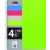 MIQUELRIUS Spirálfüzet, A5, kockás, 100 lap, MIQUELRIUS Note Book 4, vegyes