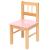 Bigjigs Pink szék