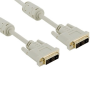 4world Monitor kábel  DVI-D (18 +1) - DVI-D (18 +1) M / M 1.8m  SL ferrite - Ret