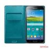 Samsung Galaxy S5 Flip cover tok,Zöld