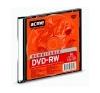 ACME DVD-RW lemez, újraírható, 4,7GB, 4x, vékony tok, ACME írható és újraírható média
