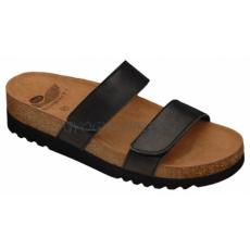 Scholl Lusaka papucs fekete