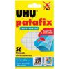 UHU Ragasztó lapok, UHU patafix TRANSPARENT átlátszó UHU, tartalom: 56 db