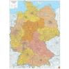 Németország postai irányítószámai térkép - f&b PLKD