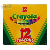 Crayola 12 db Standard viaszkréta 12